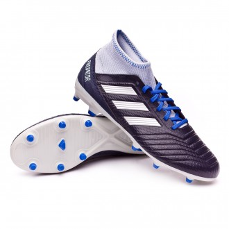 Football Boots  adidas Woman Predator 18,3 FG Legend ink-Silver metallic-Aero blue