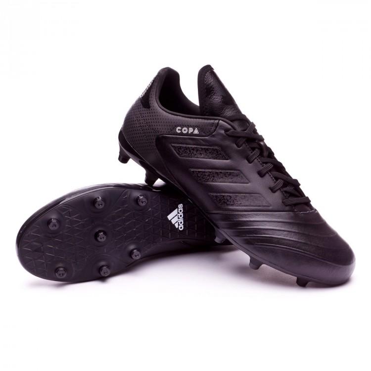 0619a9cd61e22 Zapatos de fútbol adidas Copa 18.3 FG Core black-White - Tienda de ...