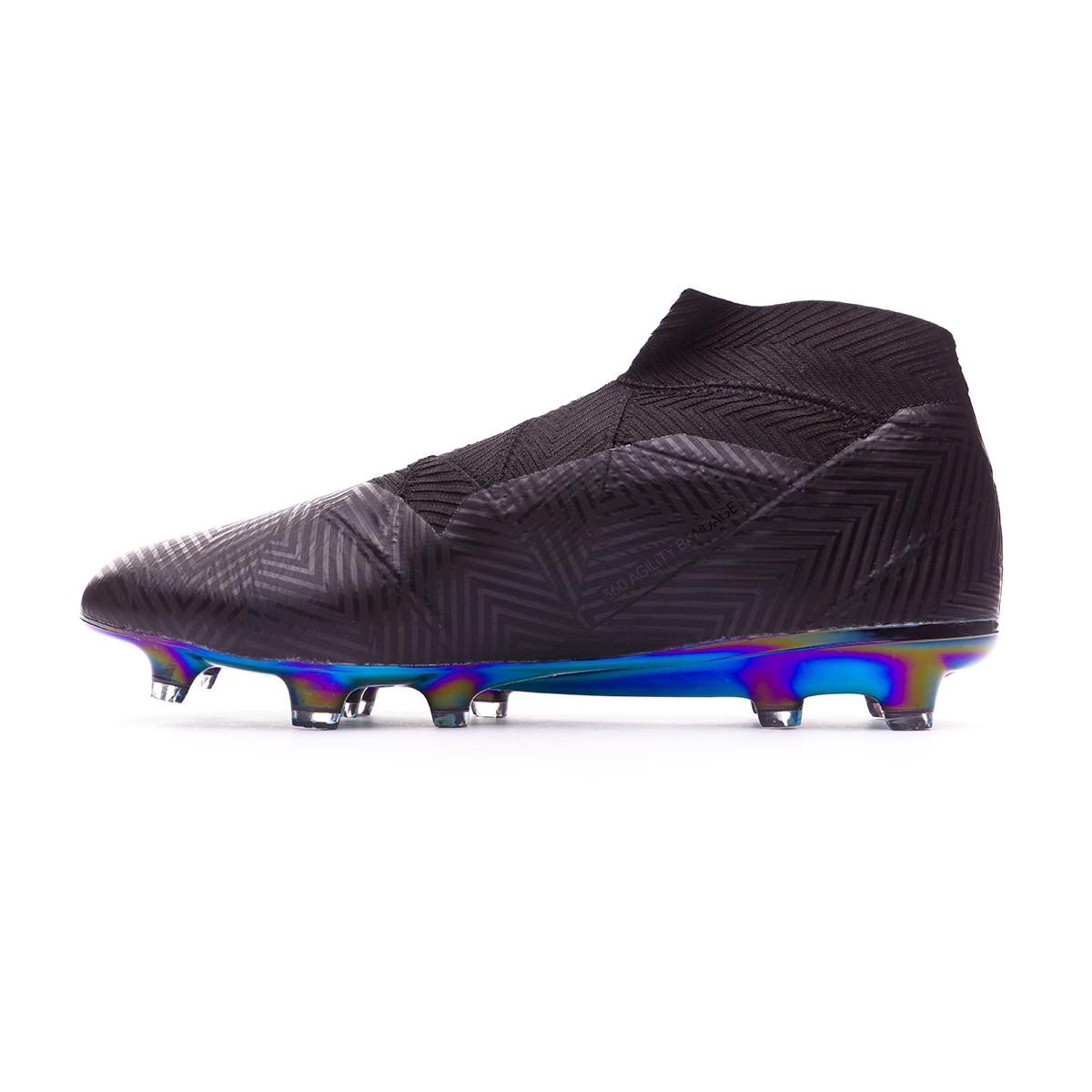 437370897edb Football Boots adidas Nemeziz 18+ FG Core black-White - Tienda de fútbol  Fútbol Emotion