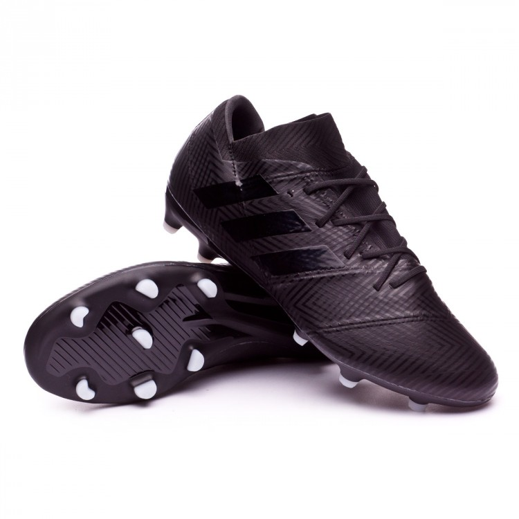 bfd1f3e9c37c Boot adidas Nemeziz 18.2 FG Core black-White - Football store Fútbol ...