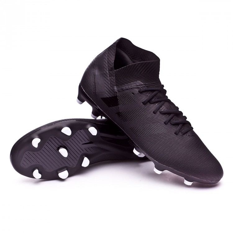8bbfc3513c9a8 Football Boots adidas Nemeziz 18.3 FG Core black-White - Football ...