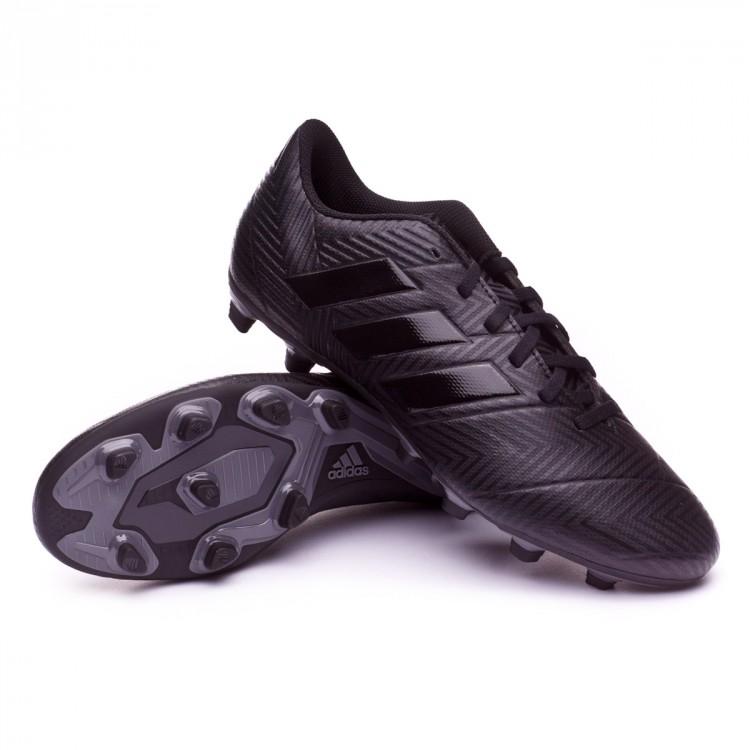 b39c56a653f2 Football Boots adidas Nemeziz 18.4 FxG Core black-White - Tienda de ...