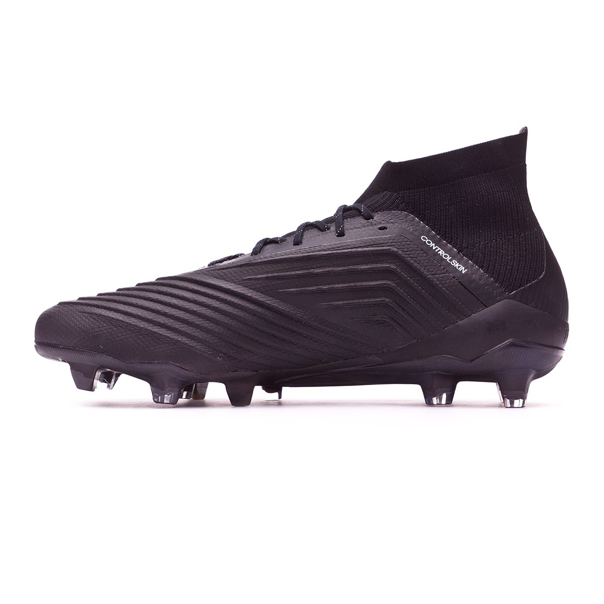 segundo Murmullo Presentador  Football Boots adidas Predator 18.1 FG Core black-White - Football store  Fútbol Emotion