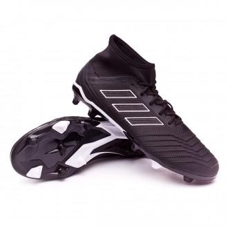 Football Boots  adidas Predator 18.2 FG Core black-White