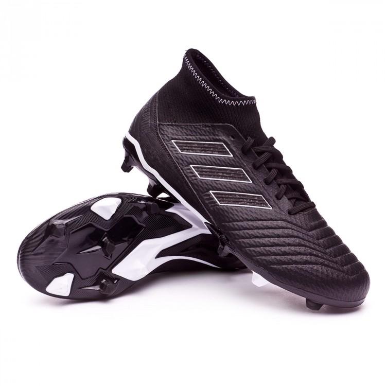 e7eefccd064bf Bota de fútbol adidas Predator 18.3 FG Core black-White - Tienda de ...