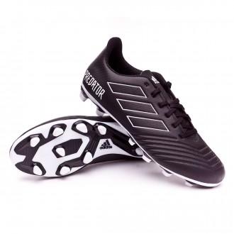 Scarpe calcio  adidas Predator 18.4 FxG Core black-White
