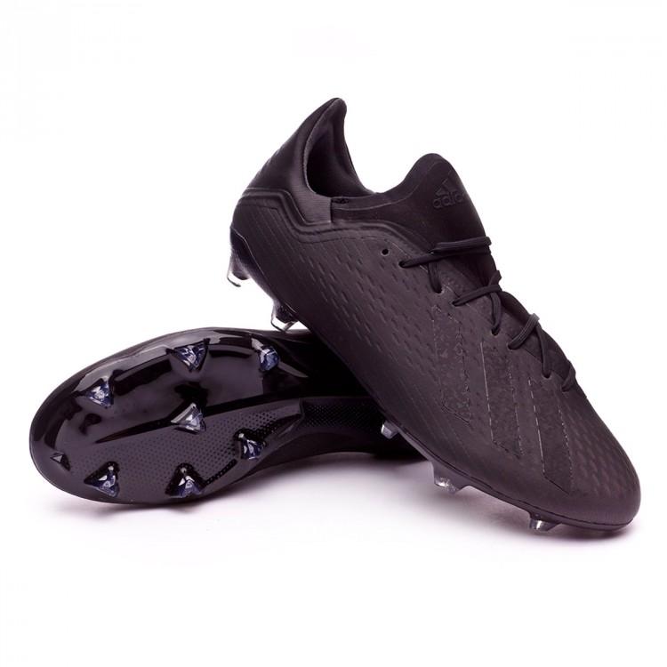 b56bf24feb0f Football Boots adidas X 18.2 FG Core black-White-Solid grey ...