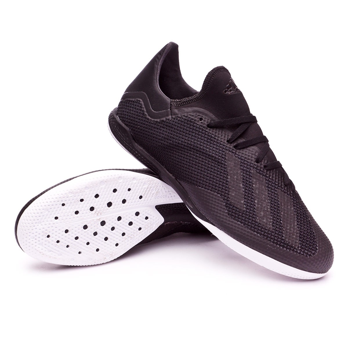 789dca79b0c7 Futsal Boot adidas X Tango 18.3 IN Core black-White-Solid grey - Football  store Fútbol Emotion