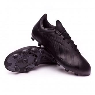 Scarpe calcio  adidas X 18.4 FG Core black-White-Solid grey