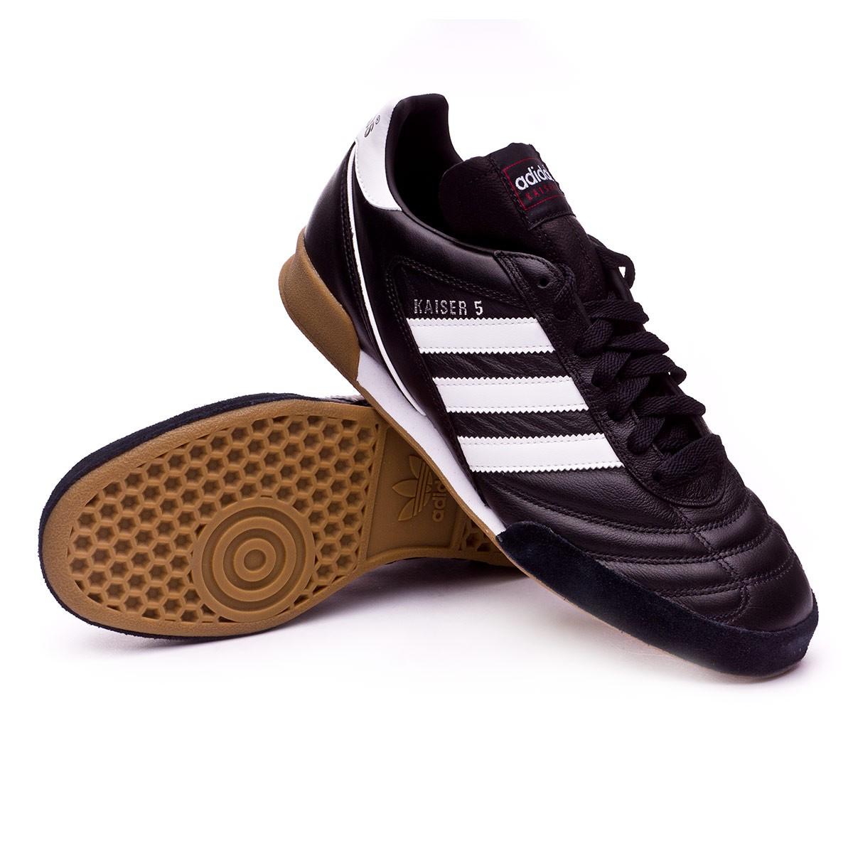 31af4f513 Futsal Boot adidas Kaiser 5 Goal Black-White - Football store Fútbol Emotion