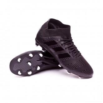 Bota  adidas Nemeziz 18.3 FG Niño Core black-White