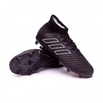 Scarpe calcio  adidas Predator 18.1 FG Junior Core black-White
