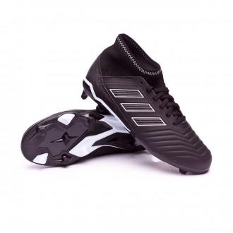 Football Boots  adidas Kids Predator 18.3 FG Core black-White