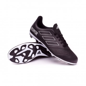 Scarpe calcio  adidas Predator 18.4 FxG Junior Core black-White