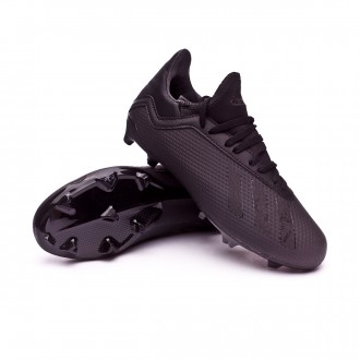 Football Boots  adidas Kids X 18.3 FG Core black-White