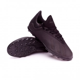 Zapatilla  adidas X Tango 18.3 Turf Niño Core black-Solid grey