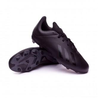 Scarpe calcio  adidas X 18.4 FxG Junior Core black-White-Solid grey
