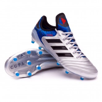 Boot  adidas Copa 18.1 FG Silver metallic-Core black-Football blue