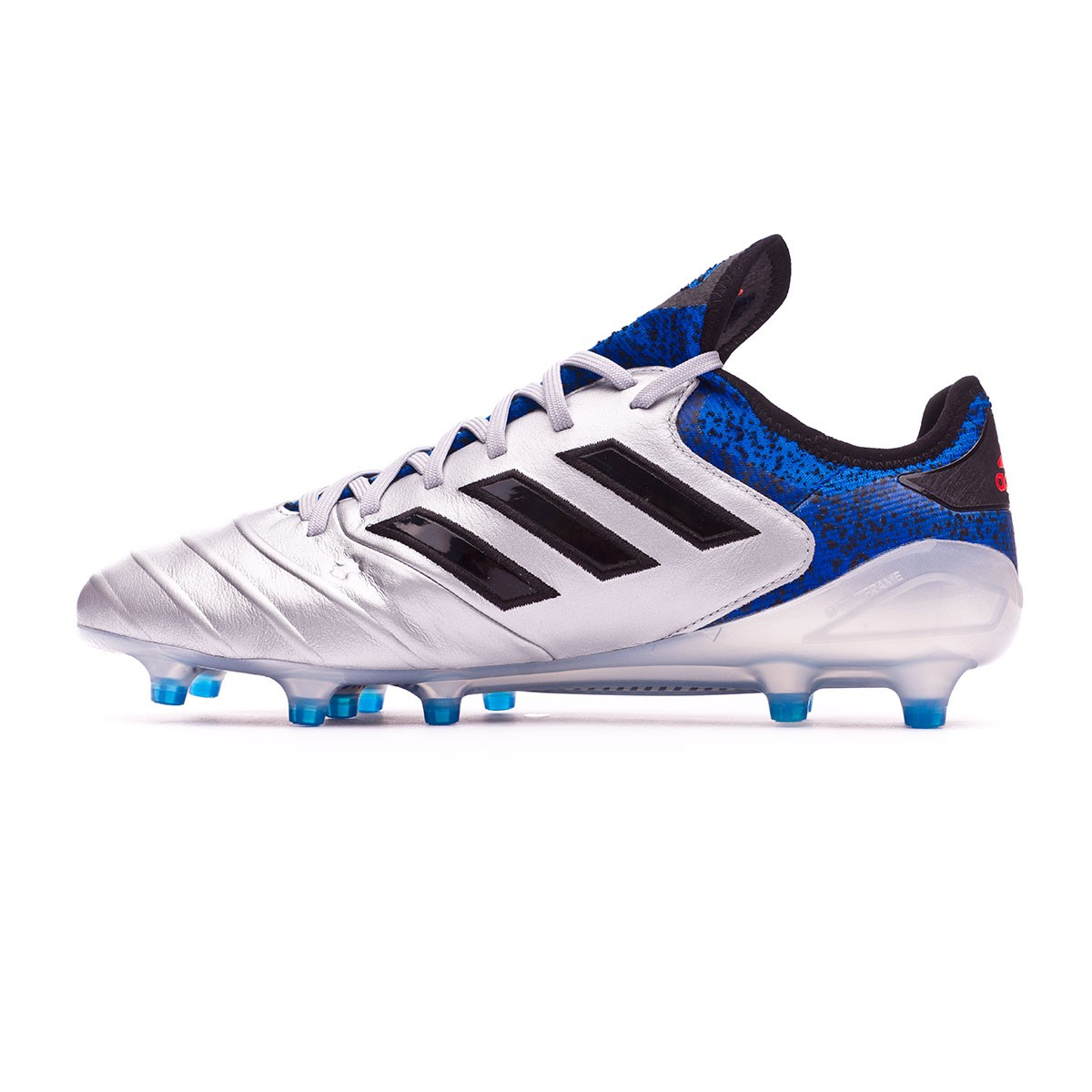 newest abc58 ac22e Boot adidas Copa 18.1 FG Silver metallic-Core black-Football blue - Football  store Fútbol Emotion