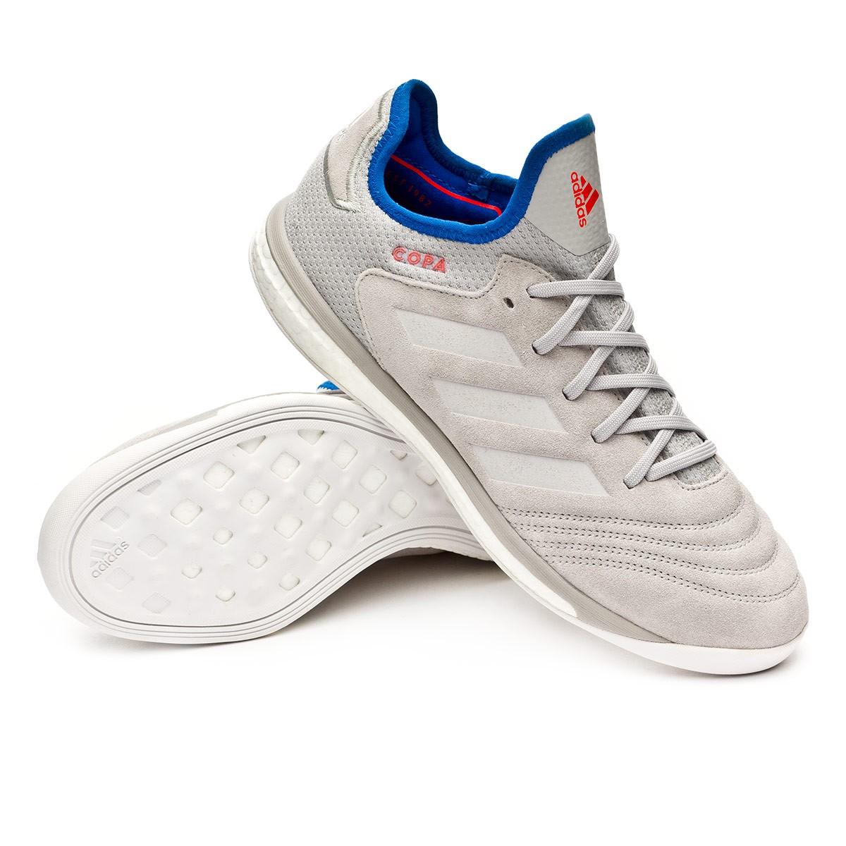 68034eb4dd5 Trainers adidas Copa Tango 18.1 TR Grey-Football blue - Leaked soccer