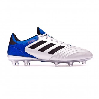 Bota  adidas Copa 18.2 FG Silver metallic-Core black-Football blue