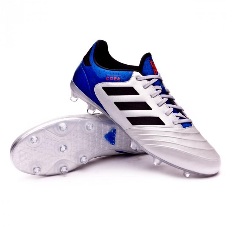 b1ef09b9f148e Zapatos de fútbol adidas Copa 18.2 FG Silver metallic-Core black ...