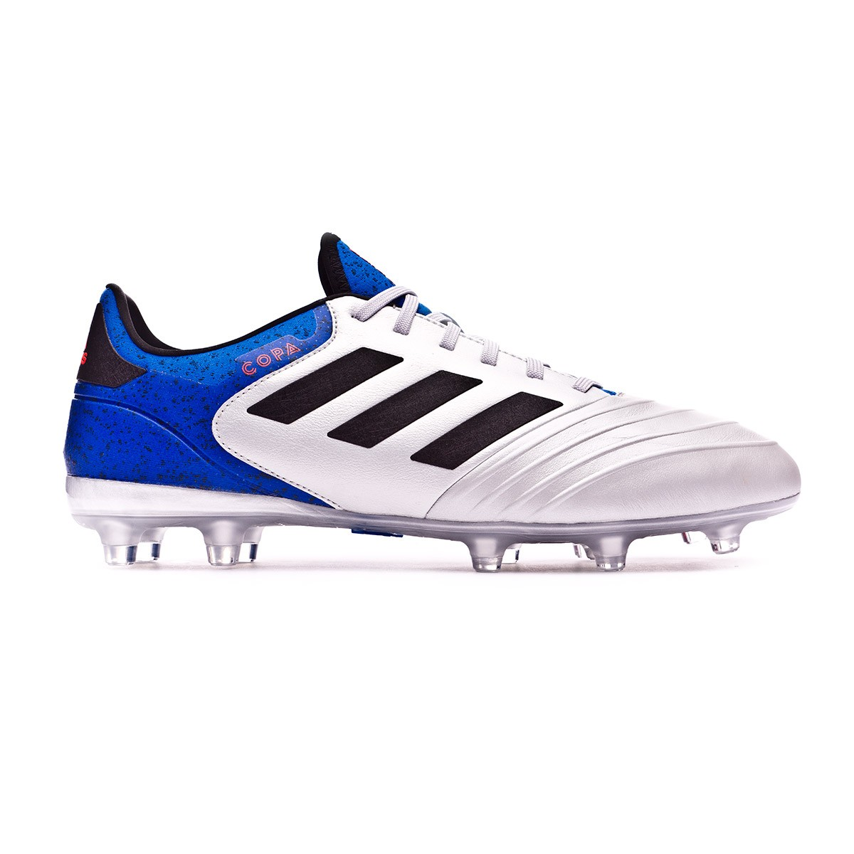 best service 1570f abf7a Boot adidas Copa 18.2 FG Silver metallic-Core black-Football blue - Football  store Fútbol Emotion