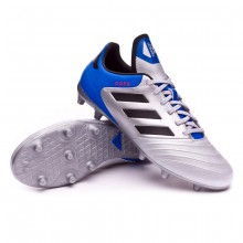 size 40 3dc72 c1faf Boot Copa 18.3 FG Silver metallic-Core black-Football blue