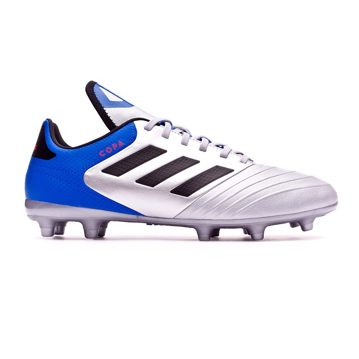 the best attitude f8e39 51dae Boot adidas Copa 18.3 FG Silver metallic-Core black-Football blue - Leaked  soccer