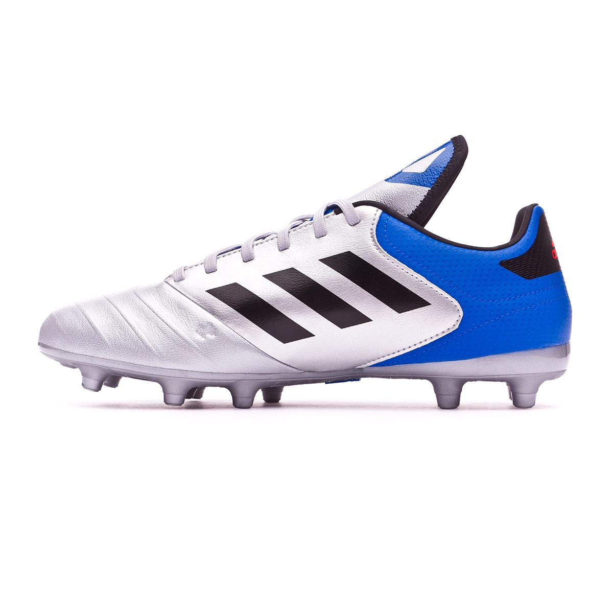 new product 4018f a1720 Boot adidas Copa 18.3 FG Silver metallic-Core black-Football blue - Football  store Fútbol Emotion