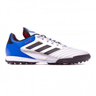 Tenis  adidas Copa Tango 18.3 Turf Silver metallic-Core black-Football blue