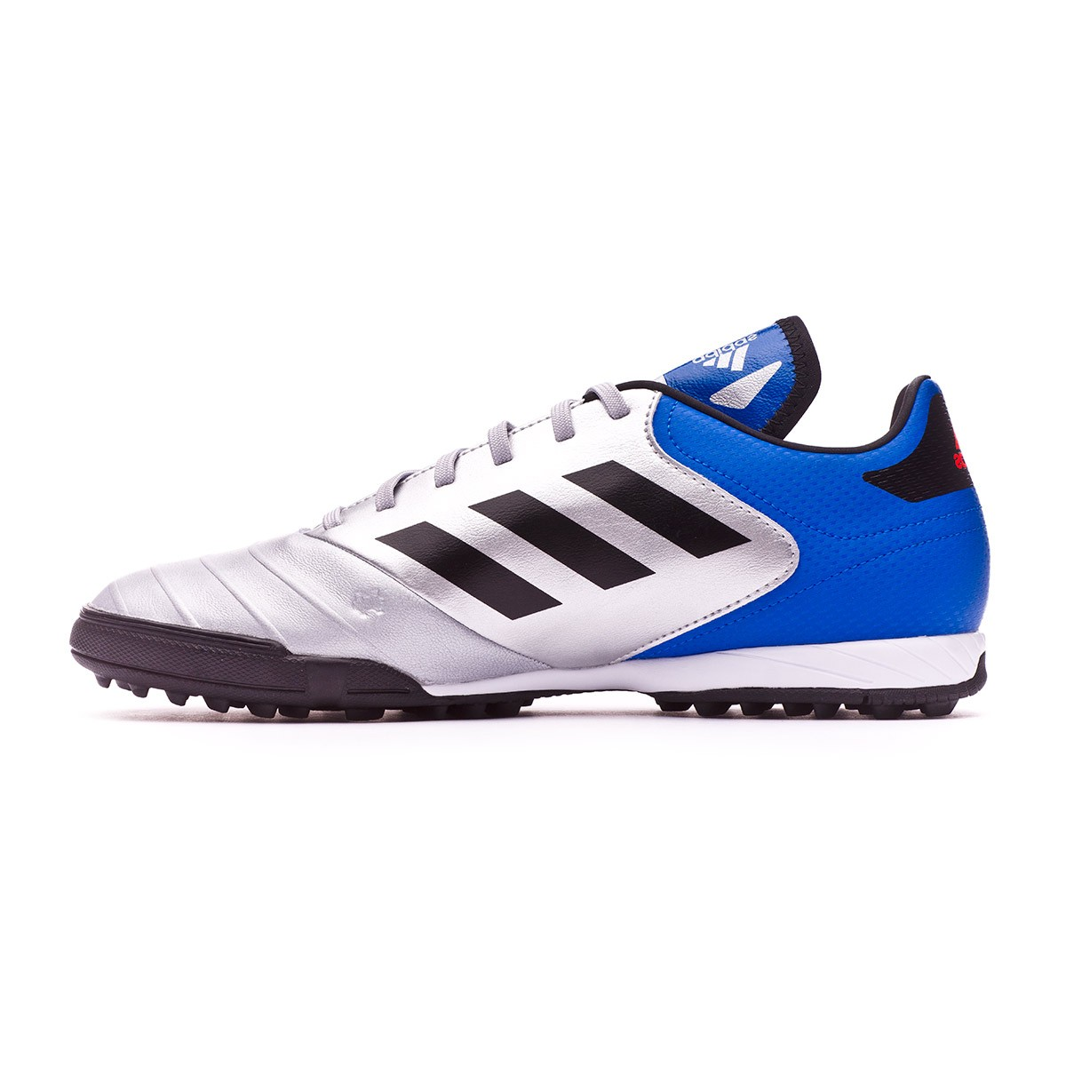 wholesale dealer 0863c b75cc Football Boot adidas Copa Tango 18.3 Turf Silver metallic-Core  black-Football blue - Leaked soccer