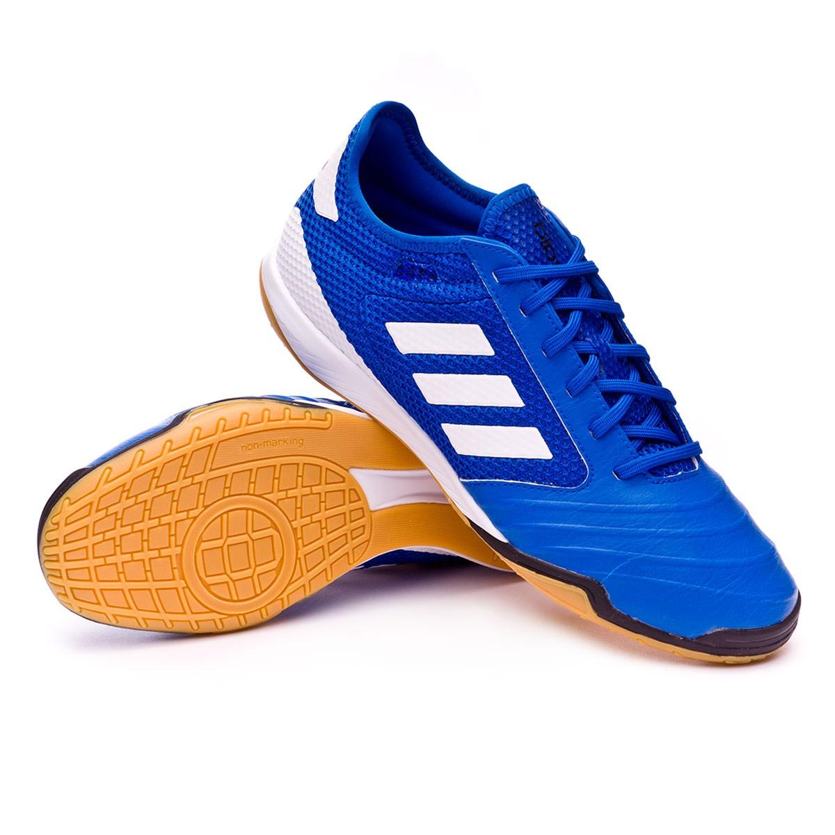 Futsal Boot Tango TopSala Football Bleu Blanc Copa adidas