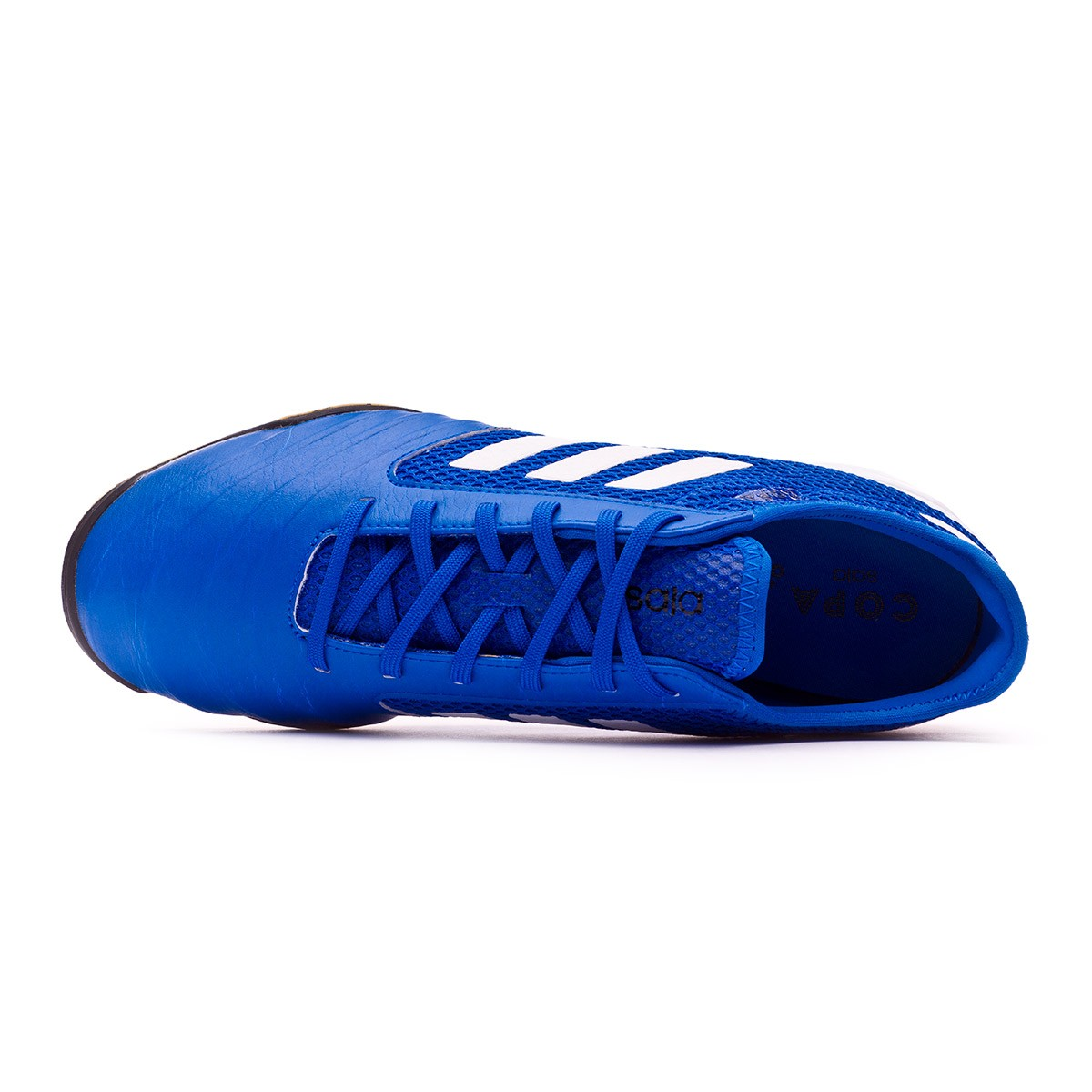 4d6d76bad1d Futsal Boot adidas Copa Tango 18.3 TopSala Football blue-White - Football  store Fútbol Emotion