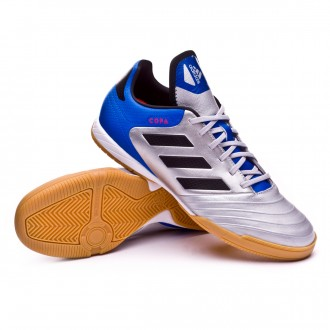 812d5875655efc Futsal Boot adidas Copa Tango 18.3 IN Silver metallic-Core black-Football  blue
