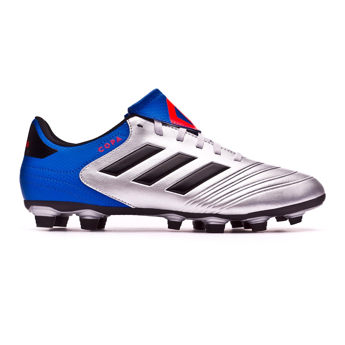 252e7191baed7 Boot adidas Copa 18.4 FxG Silver metallic-Core black-Football blue - Leaked  soccer