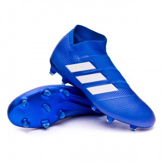 Bota  adidas Nemeziz 18+ FG Football blue-White