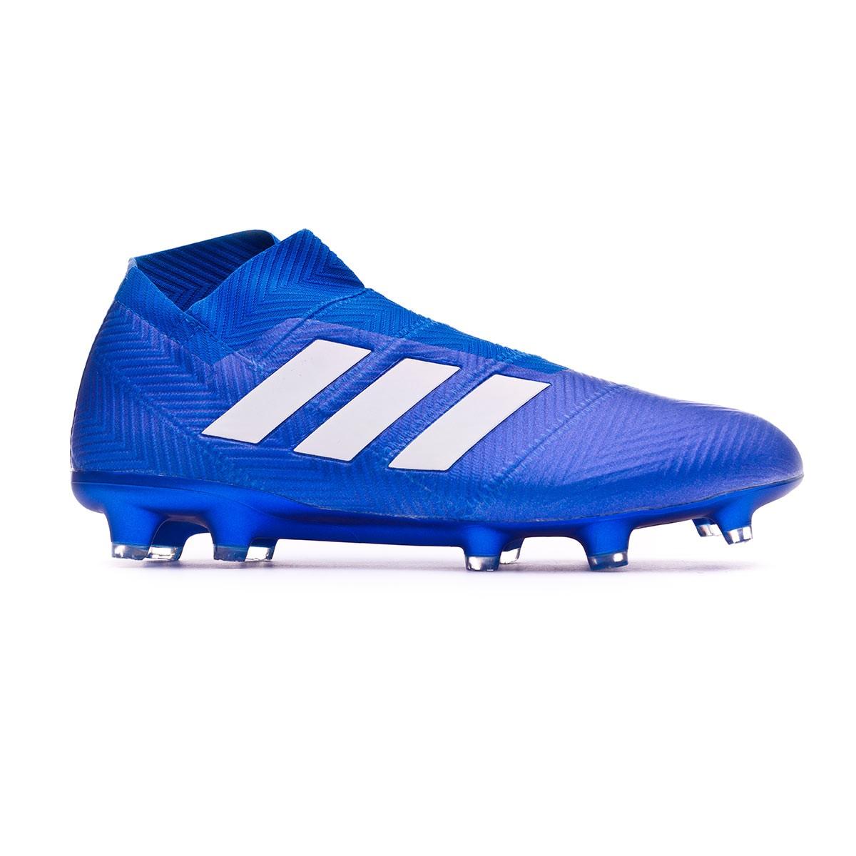 hot sale online 9257e 3a69f Football Boots adidas Nemeziz 18+ FG Football blue-White - Tienda de fútbol  Fútbol Emotion