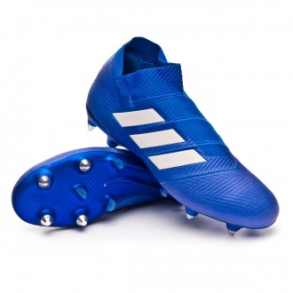 Chuteira  adidas Nemeziz 18+ SG Football blue-White