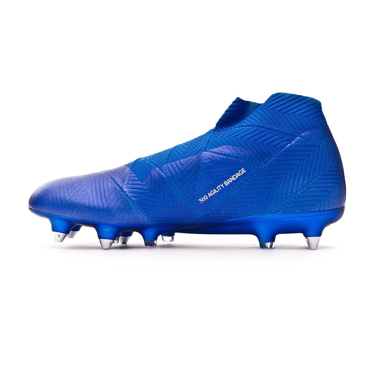 competitive price c3e0b b4c4f Football Boots adidas Nemeziz 18+ SG Football blue-White - Tienda de fútbol  Fútbol Emotion