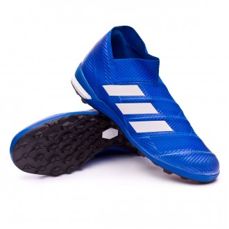Zapatilla  adidas Nemeziz Tango 18+ Turf Football blue-White