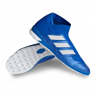 Futsal Boot  adidas Nemeziz Tango 18+ IN Football blue-White