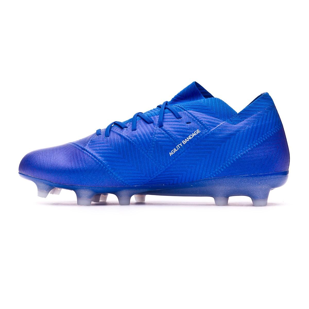competitive price 02408 0ebe4 Football Boots adidas Nemeziz 18.1 FG Football blue-White - Football store  Fútbol Emotion