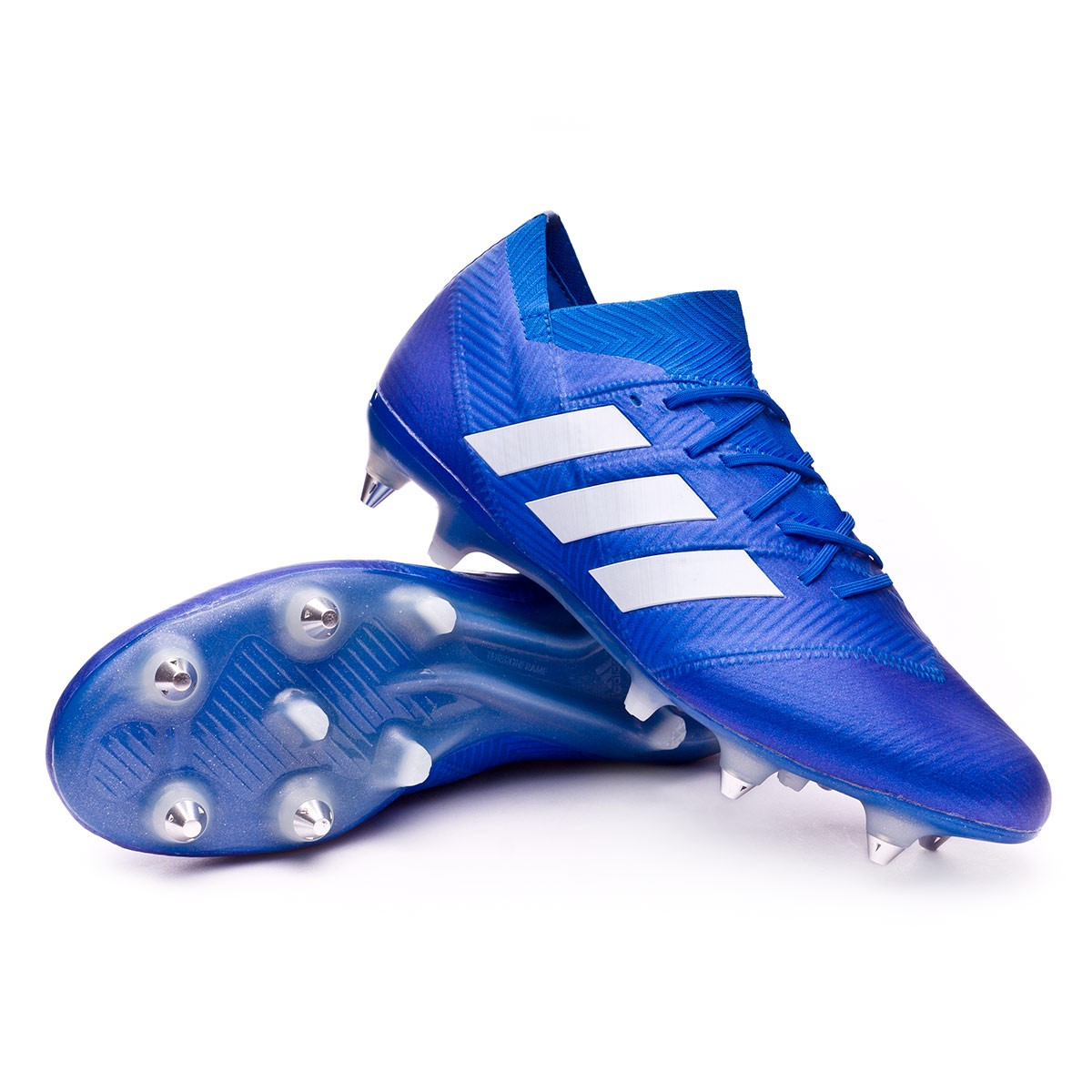 Bota White Blue 1 Football Nemeziz Sg 18 WE9eHD2YI