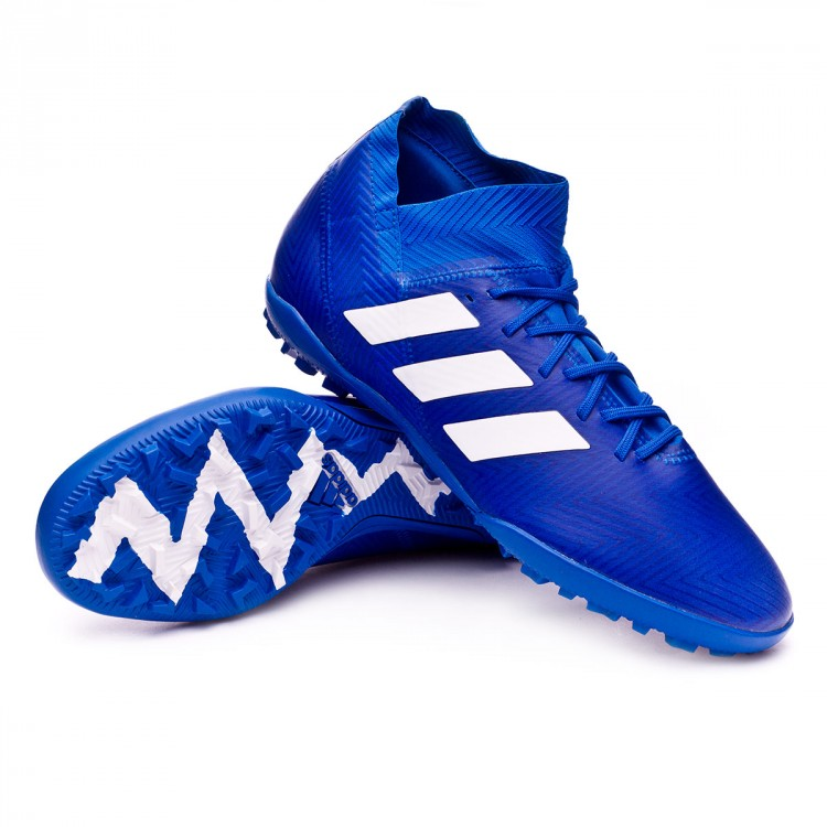 0ab2c2090ede Zapatilla adidas Nemeziz Tango 18.3 Turf Football blue-White ...