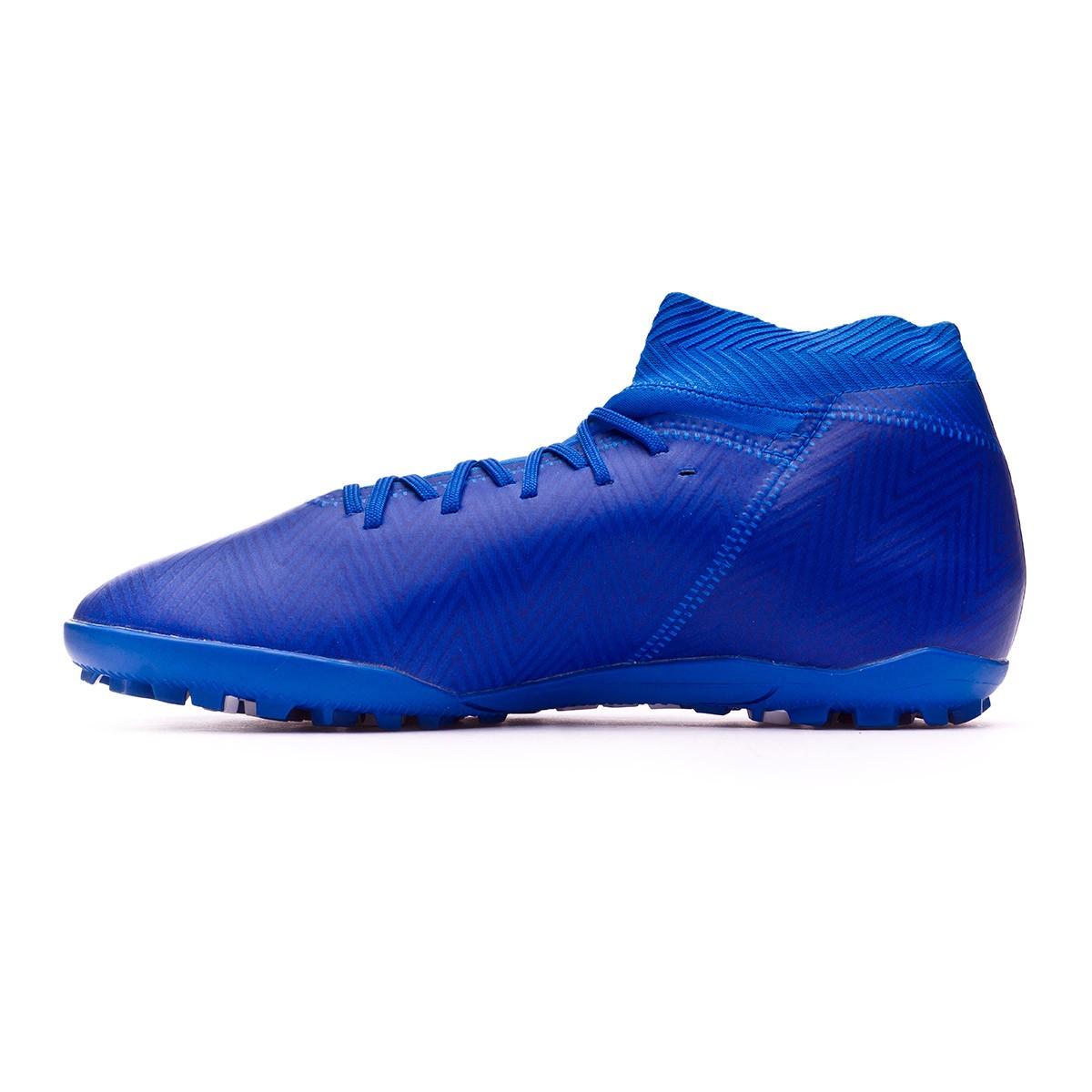 the best attitude 52593 93484 Football Boot adidas Nemeziz Tango Turf Football Bleu Blanc