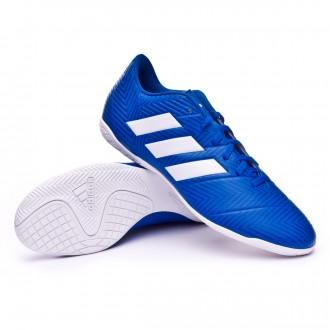 Zapatilla  adidas Nemeziz Tango 18.4 IN Football blue-White