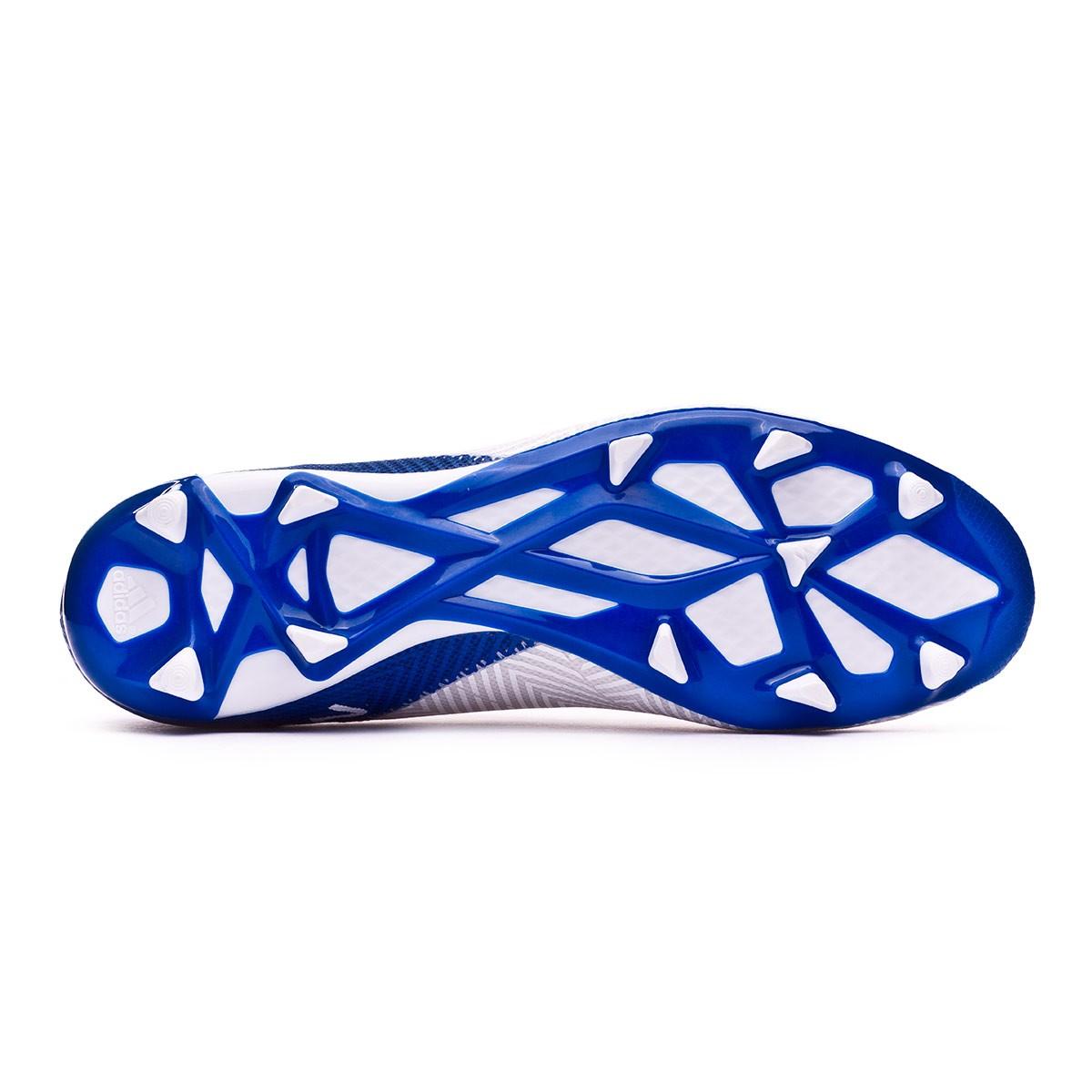 c080f3931 Football Boots adidas Nemeziz Messi 18.3 FG White-Core black-Football blue  - Football store Fútbol Emotion