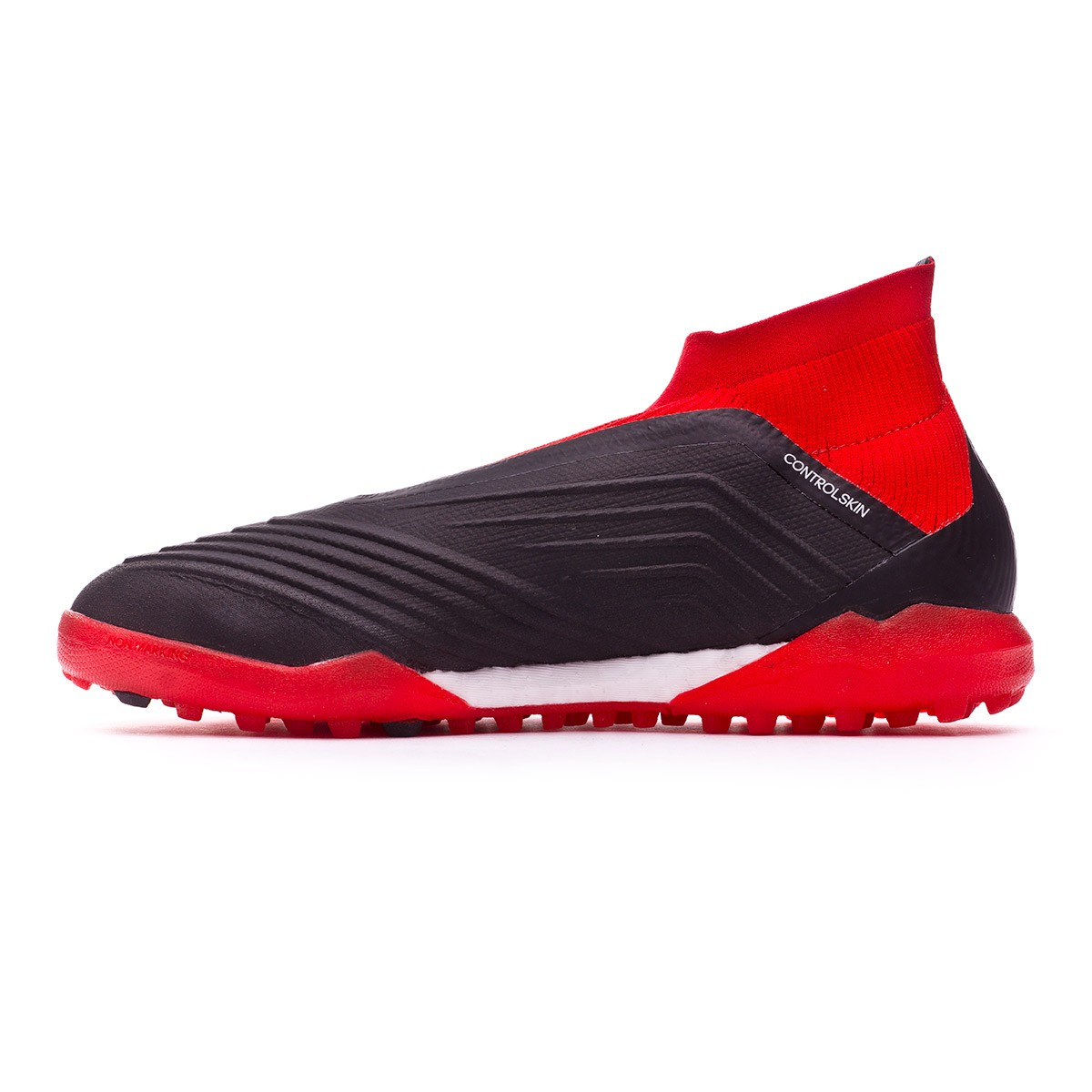 check out c251f 69ef5 Football Boot adidas Predator Tango 18+ Turf Core black-White-Red - Leaked  soccer