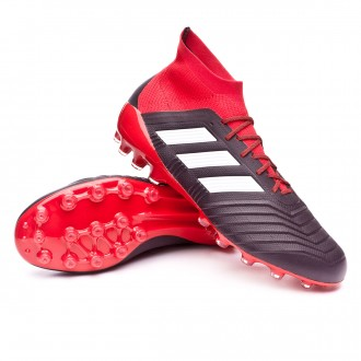 Chuteira  adidas Predator 18.1 AG Core black-White-Red